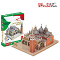 Cubicfun 3D Puzzle Toys 107PCS Piazza San Marco in Venice Model MC209h Children's Gift