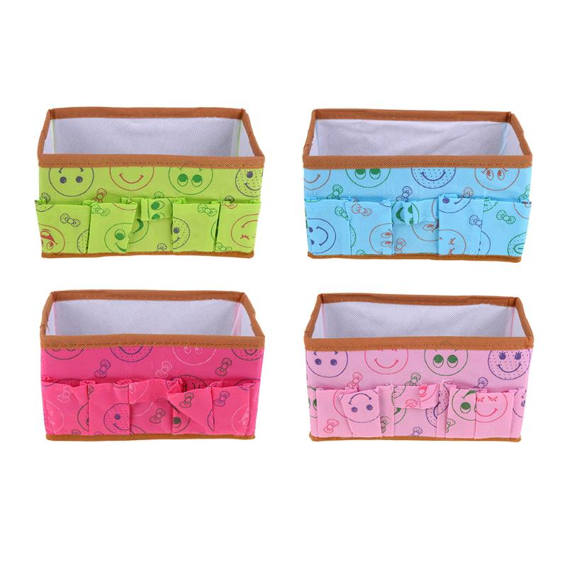 Multifunction Make Up Container Folding Waterproof Laundry Cosmetic Storage Box Container Case Organize Green/ Blue/ Pink/ Red