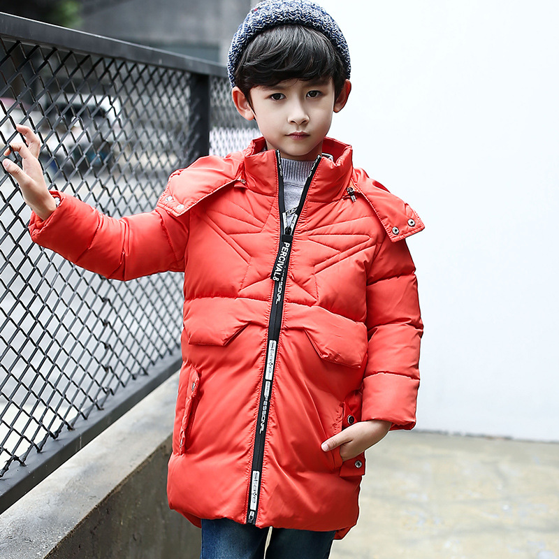 kids down jacket winter jacket child warm clothes for boy girl hooded long-jacket kids winter jacket for boy girl Removable cap the children down jacket winter suit pants can open a boy girl down jacket girl down jacket girl boy jacket girls winter coat