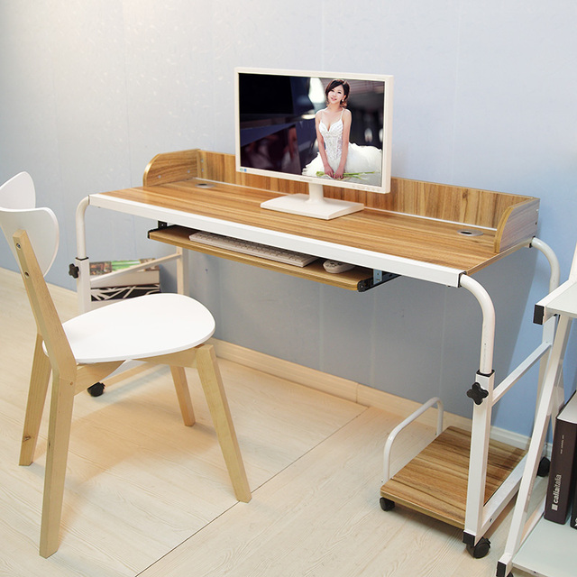 Double Bed Multi Function Mobile Computer Tables Across Landmark Lazy  Laptop Table Desk Home Notebook
