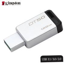 Kingston 128gb USB Memorias Pendrives DataTraveler 50 Fast Speed USB 3.0 Flash Pen Drive Memory Stick for Tablet/PC