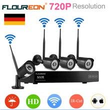 Promo offer FLOUREON 4CH Digital Wireless CCTV DVR Outdoor Wifi WLAN 720P Camera Recorder NVR System EU