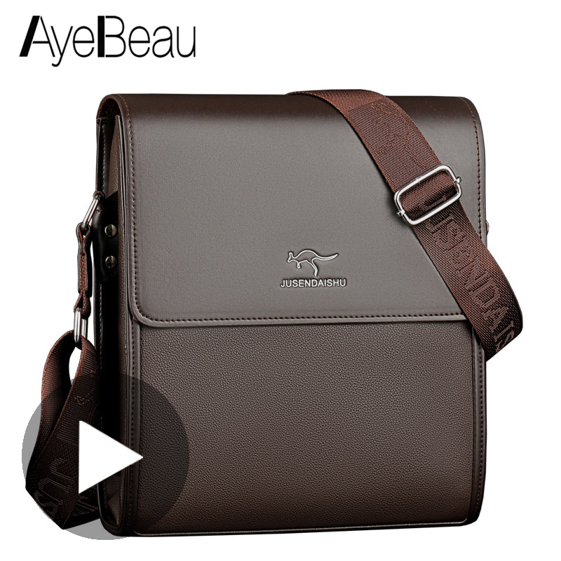 Men Briefcase Handbag Satchel Messenger-Bag Document Business Office Male Portfolio