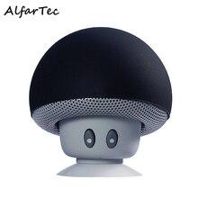 Mushroom Altavoz Bluetooth inalámbrico Mini Portátil de Altavoces Estéreo Impermeable Taza Sostenedor de la Succión Para IOS Android Smart Phone