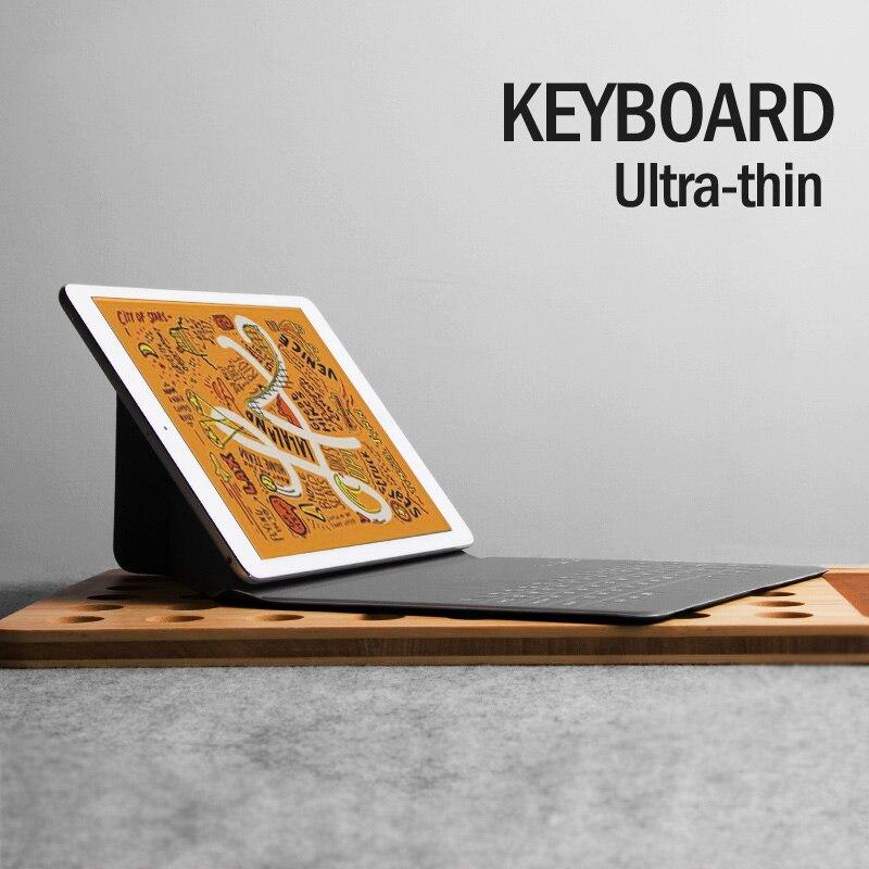 Bluetooth Keyboard For IPad Mini 4 Mini 5 7.9-8inch Mini 2 3 Tablet PU Leather Case Cover Ultra-thin Wireless Freeshipping