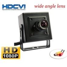 HDCVI 1080P 2MP 2.8mm wide angle lens Mini-box Color CCTV BNC Camera
