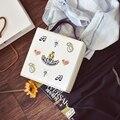 Moda Mini Caixa De Mulheres bolsa de Ombro China Sacos Decorados Saco de Retalhos de Camurça de Couro PU Pequeno Saco Das Senhoras Bordado Tote Sacos Do Mensageiro
