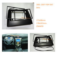 Car Stereo Radio Fascia Plate Panel Frame Kit For FIAT Stilo 2001 2007 Stereo Fascia Dash CD Trim Installation Kit ZWA 11 059