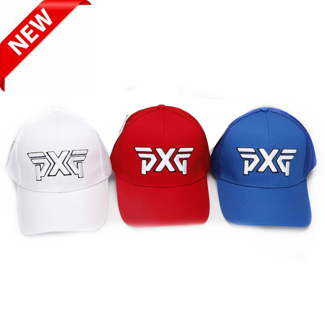 2018 New PXG golf Cap Professional hat punched sheet cotton golf ball cap  High Quality sports e2ebf062c943