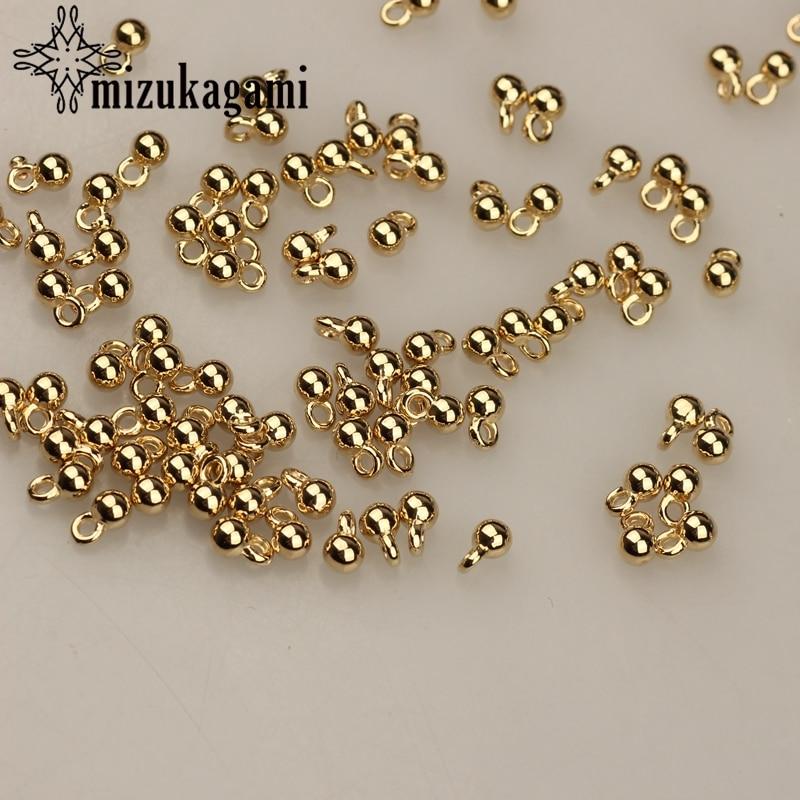 Позолоченная цепь CCB с круглым хвостом, 200 шт./лот, 3*6 мм, цепочка-кулон для самостоятельного изготовления ювелирных изделий, браслетов, аксес...
