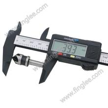 6inch 150mm Vernier Digital Electronic Caliper Ruler Measuring Tools Carbon Fiber Composite Vernier Calipers Finglee Tools