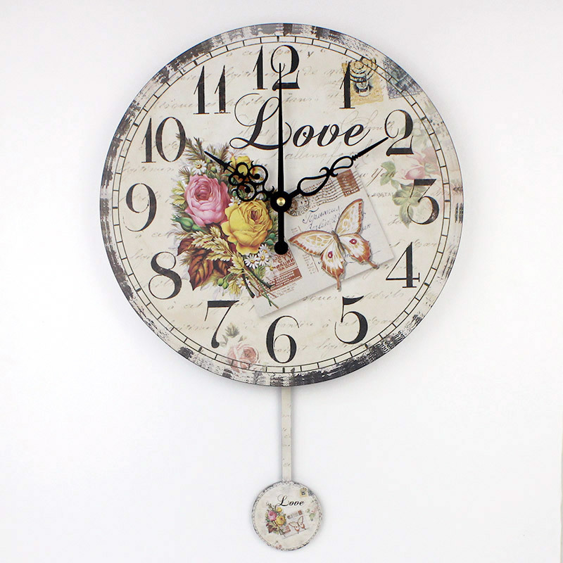 Living Room Decor Wall Clocks Modern Design Absolutely