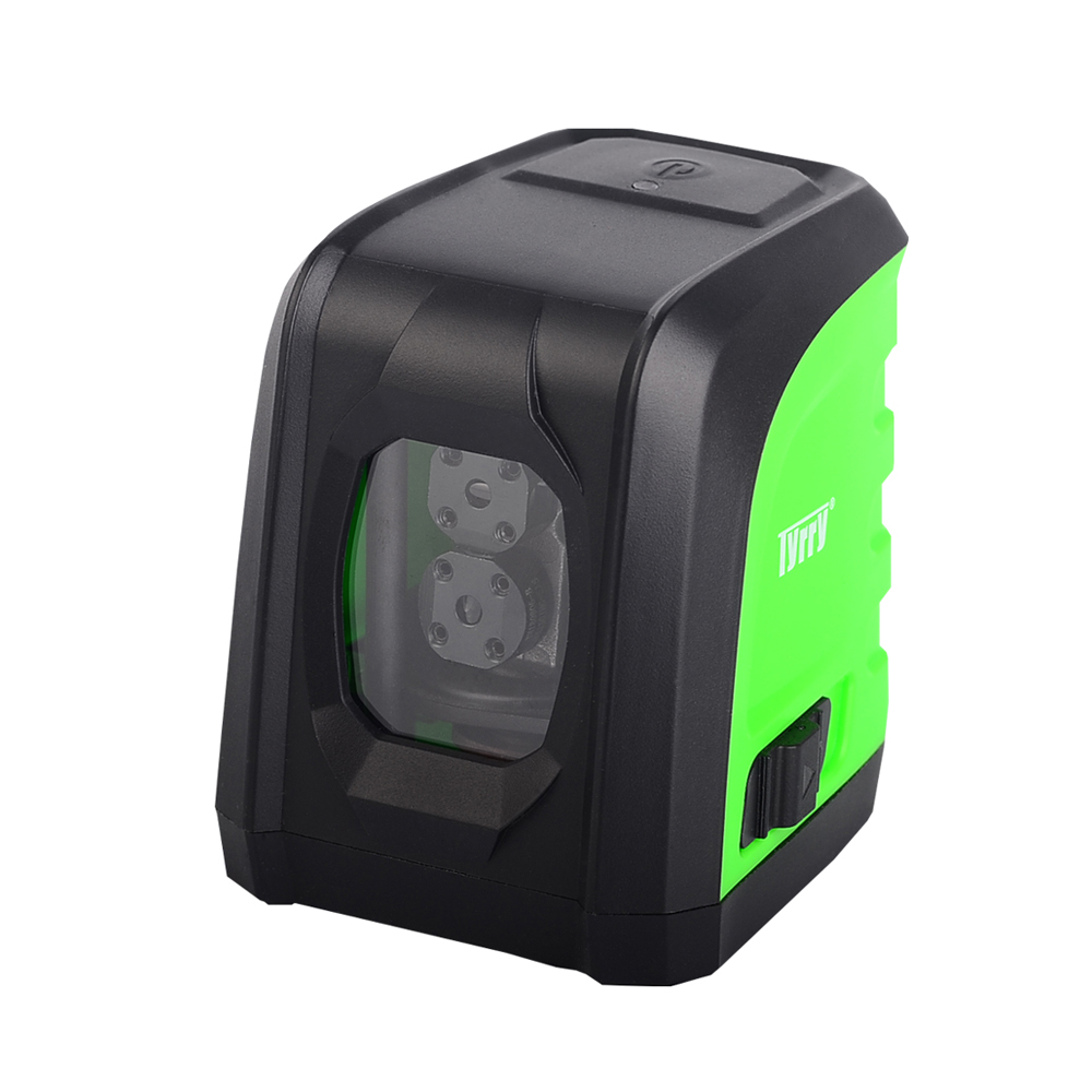 LL DR2 G2 2 Lines Green Laser Level Lithium Battery Horizontal and Vertical Cross Line Laser
