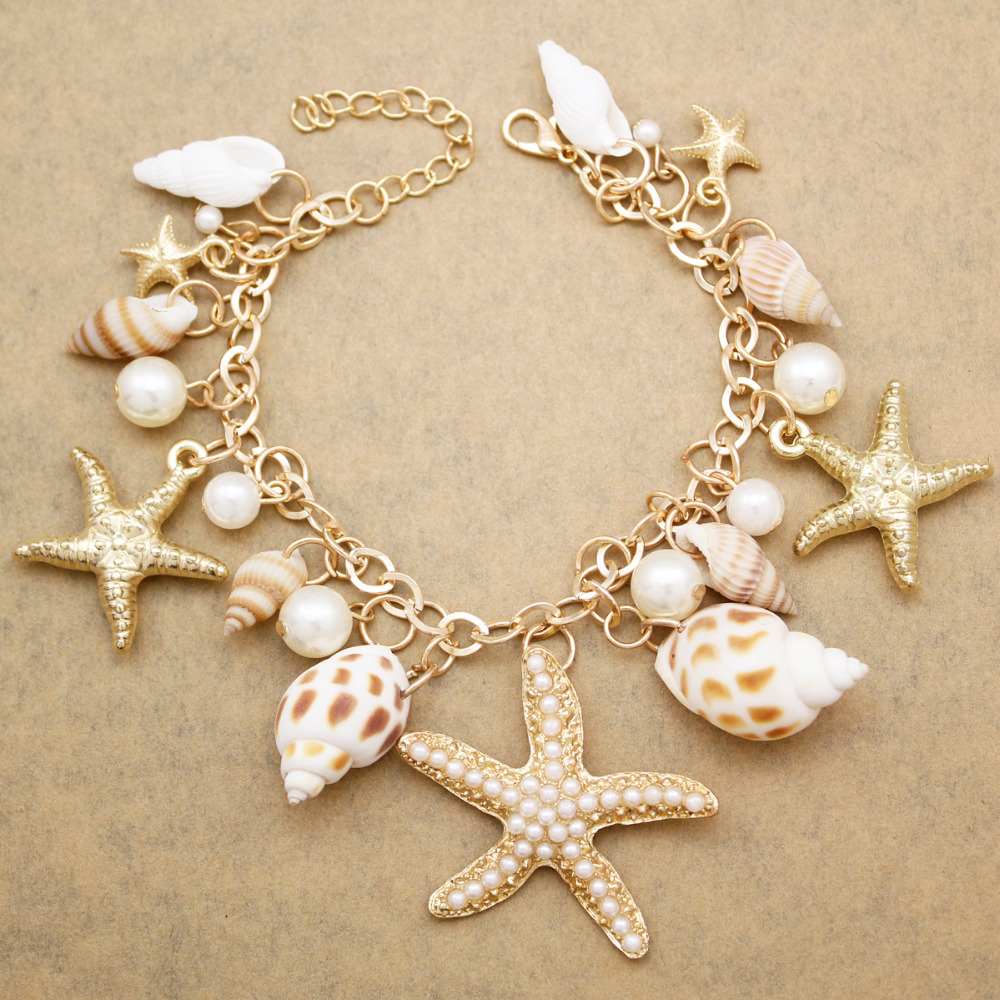 Gold Beach Seashell Ocean...