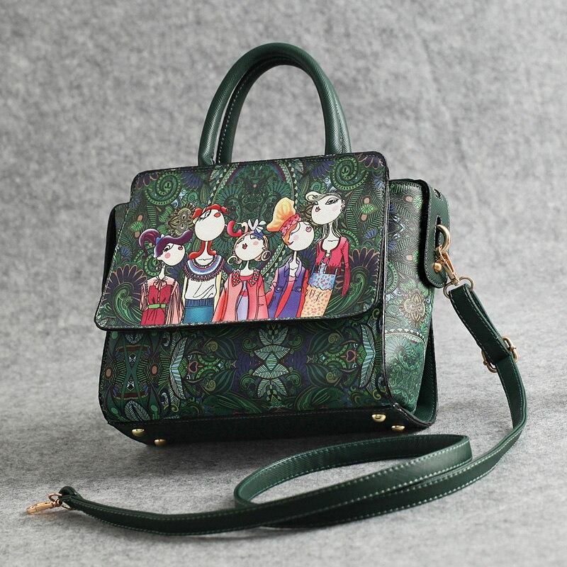 mulheres patchwork menina floresta verde Color : Green