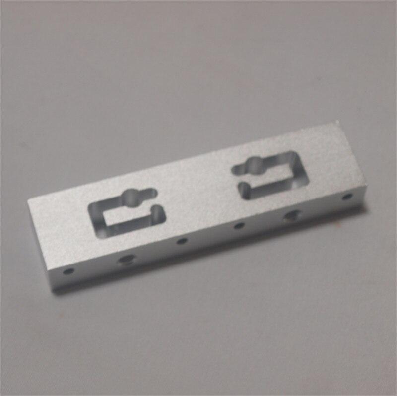 RepRap Replicator 2X 3D Printer hotend mout bar Aluminum . replicater 2x extruter bar