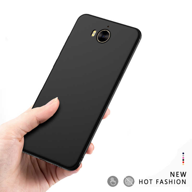 For Huawei Y5 2017 / Y6 2017 Silicone Cover For Huawei mya l11 l22 l41 Case Soft TPU Matte Slim Back Cover For Huawei Nova Young