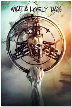Плакат гобелен шелковый Безумный макс дорога ярости