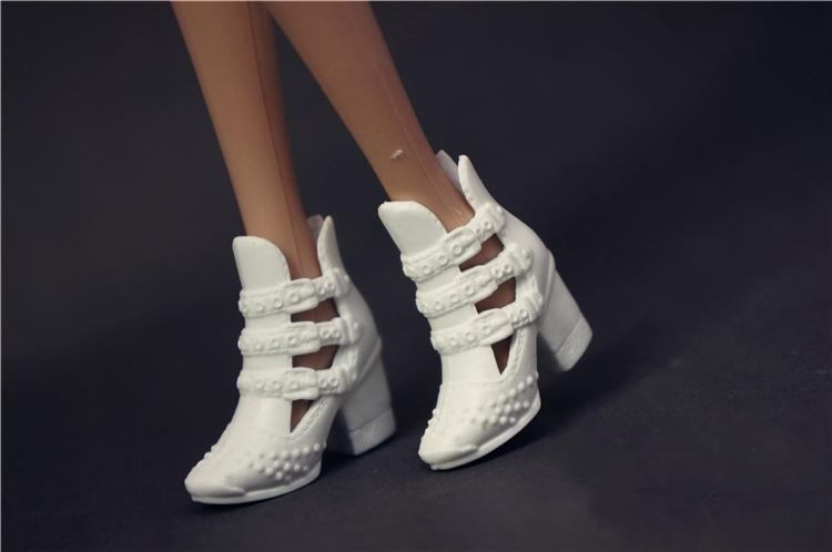Wholesale New Arrive Original 1 Pair Doll Shoes Fashion Shoes For Barbie Doll 1/6