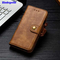For Telefoon Hoes Samsung S8 Case Luxury Leather Hard Protective Flip Back Phone Case For Samsung