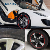 KRADA Car Styling Stickers Wheel Trim Decorative For Ford Focus 2 3 Mk2 Fiesta Ecosport Kuga