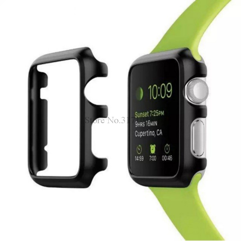 TROLLOVE PC Frame Protective Case For Apple Watch Series 1 2 3 4 40mm 38mm 42mm Luxury Cover Shell Perfect Match 38 42 mm Bumper 5pcs htd5m belt 550 5m 15 teeth 110 length 550mm width 15mm 5m timing belt rubber closed loop belt 550 htd 5m s5m belt pulley