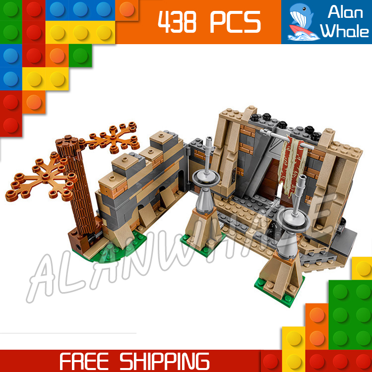 438pcs New Space Wars Battle on Takodana Base 05009 Assemble Model Building Blocks Gifts Set Toys Bricks Compatible With Lego toys in space