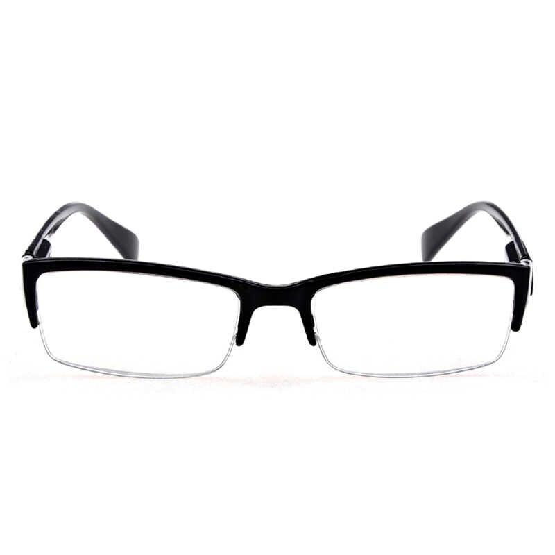 7ebba1af4f Men Women Resin Reading Glasses Half Frame Spectacles Glass +100 +150 +200 +