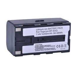 1 Pc 7.4 V 5200 mAh BT-65Q BT 65Q akumulator litowo-jonowy do Topcon GTS 900 i GPT 9000 całkowitej stacji
