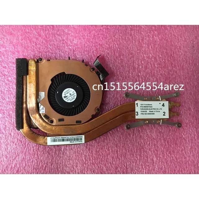 Original laptop Lenovo ThinkPad X1 carbono 1st Gen Tipo 34xx O ventilador, o radiador 04W3589 0B55975AA