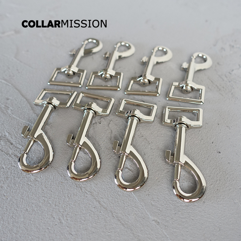 20pcs/lot Metal Buckle For Dog Leash Backpacks Diy Accessory Wholesale 20mm Swivel Snap Hooks Durable And Strong Hardware PK20Y