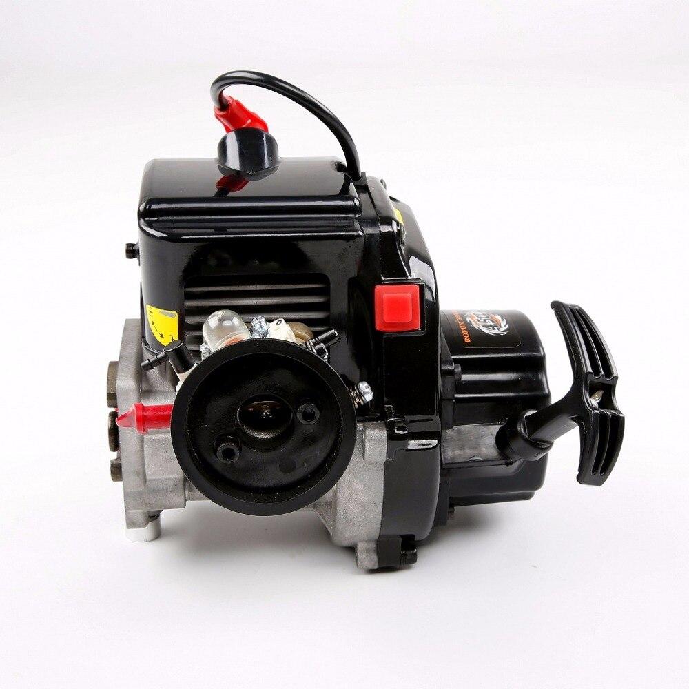 45cc 4 parafusos motor a gasolina com walbro1107 carburador ngk vela de ignição para 1/5 hpi rovan rei baja 5b ss peças - 3