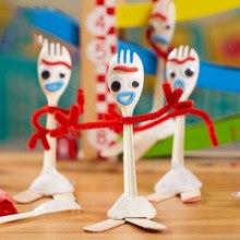 14 см Diy форки Базз Лайтер История Игрушек 4 Вуди из мультфильма Джесси фигурка Коллекционная кукла игрушки для детей