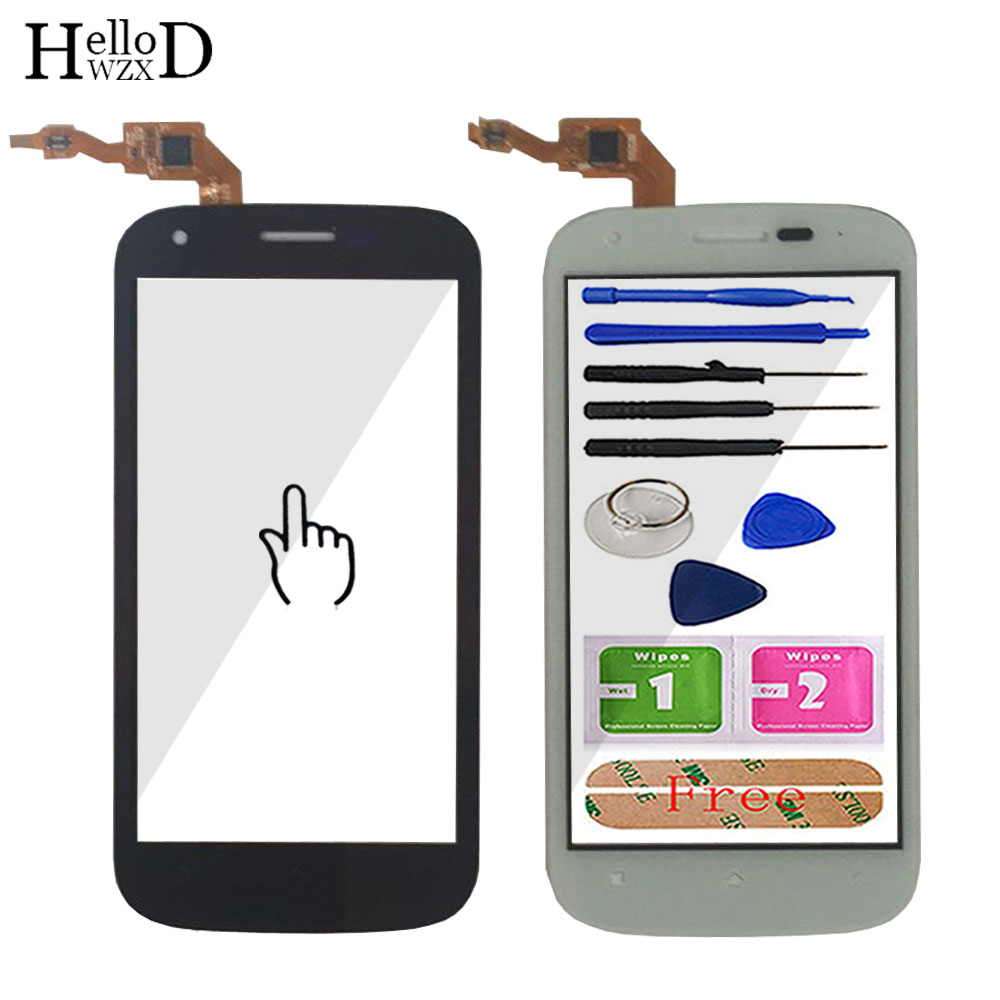 Mobile Touch Screen For Wiko Cink Peax Cink Peax 2 Touch Glass Digitizer Panel Touchscreen Front Glass Lens Sensor Adhesive