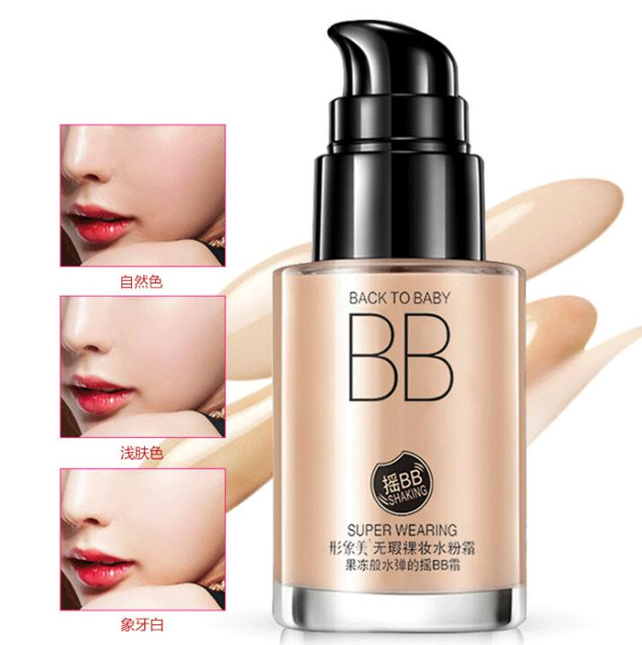 3 Color Fresh And Moist Revitalizing BB font b Cream b font Makeup Face Care Whitening