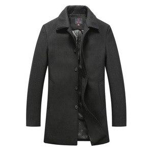 New Winter Wool Blends Slim Fi
