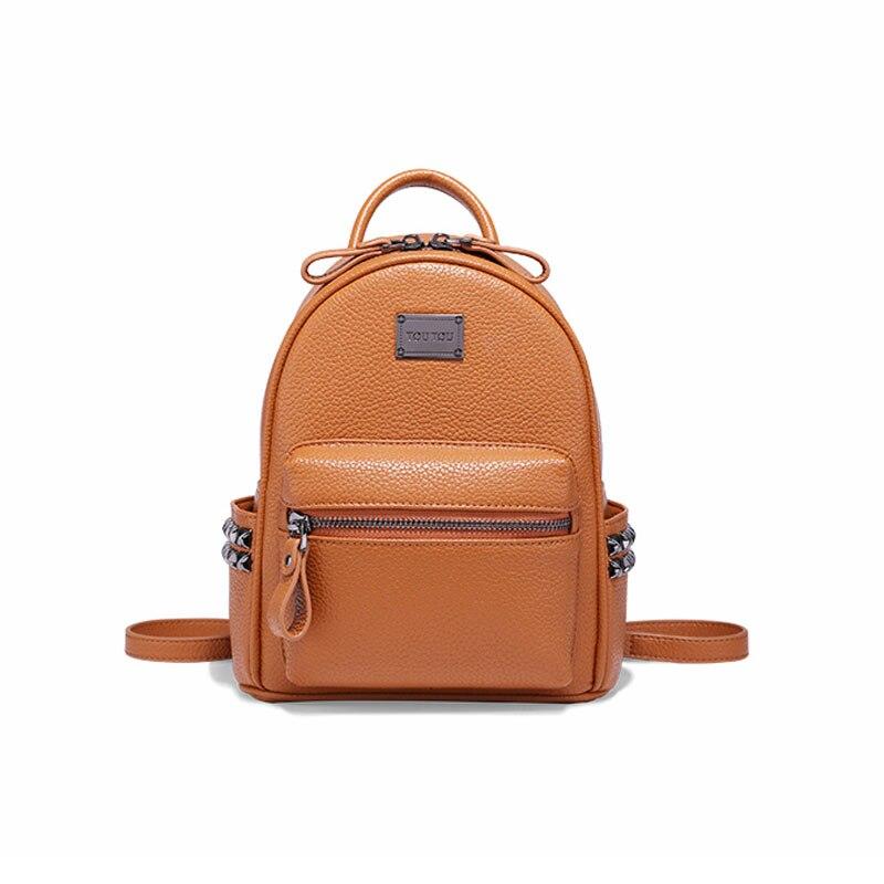Women backpack female Mini rivet backpacks for girls fashion teenagers schoolbag small backpack ladies shoulder bag mochila