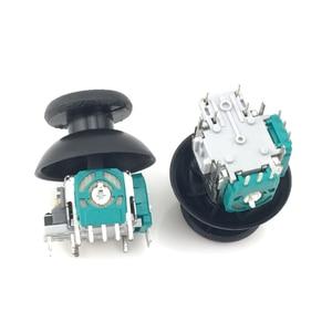 Data Frog 2 шт., 3D аналоговая ось, 3D джойстик, модуль потенциометра с 2-мя синими наконечниками для Playstation 4, PS4, контроллер для ремонта