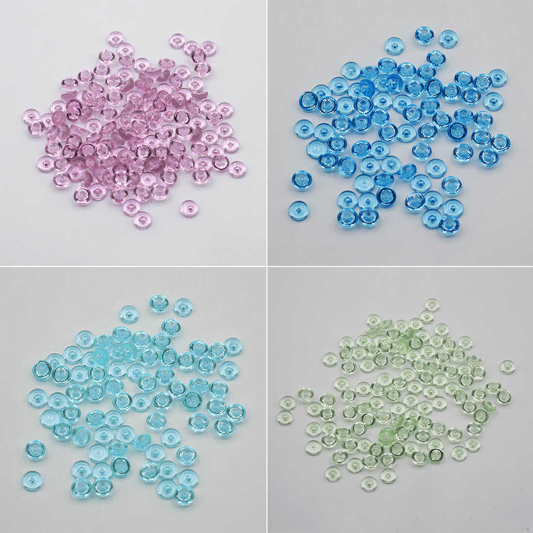 500pcs/pack Fishbowl Beads DIY Slime Decoration 7mm Diameter For Craft Tools Home Decoration Beads for Slime