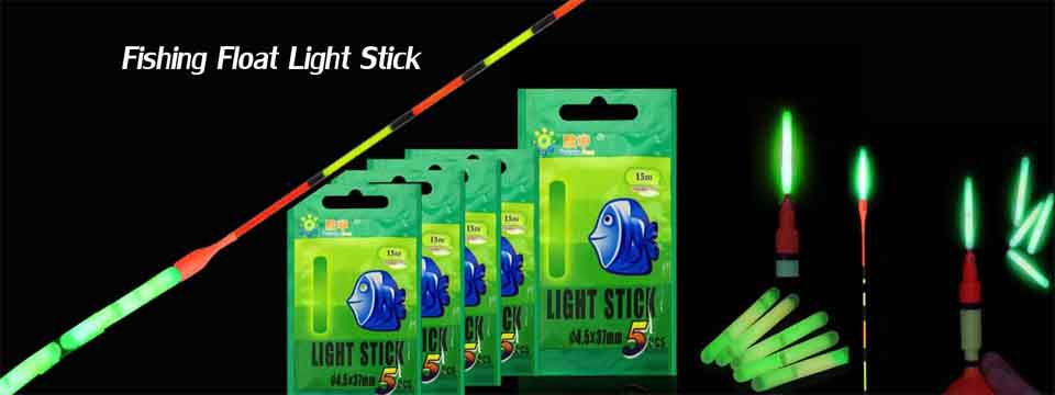 10Pcs Fishing Light Stick Clip on Rod Tip Night Fishing Sticks Fluorescent X1R1