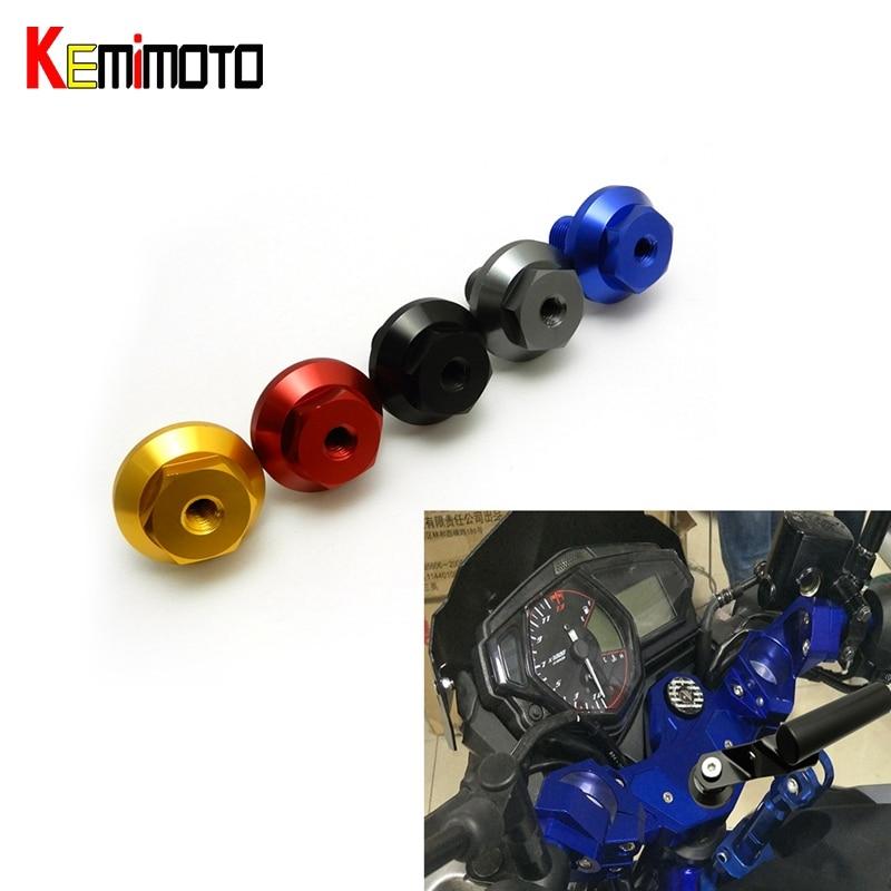 KEMiMOTO МТ-03 Р3 тройной зажим винт для Ямаха YZF R3 для MT03 МТ 03 2015 2016 в-Star250 2008-2015 TW200 2001-2015
