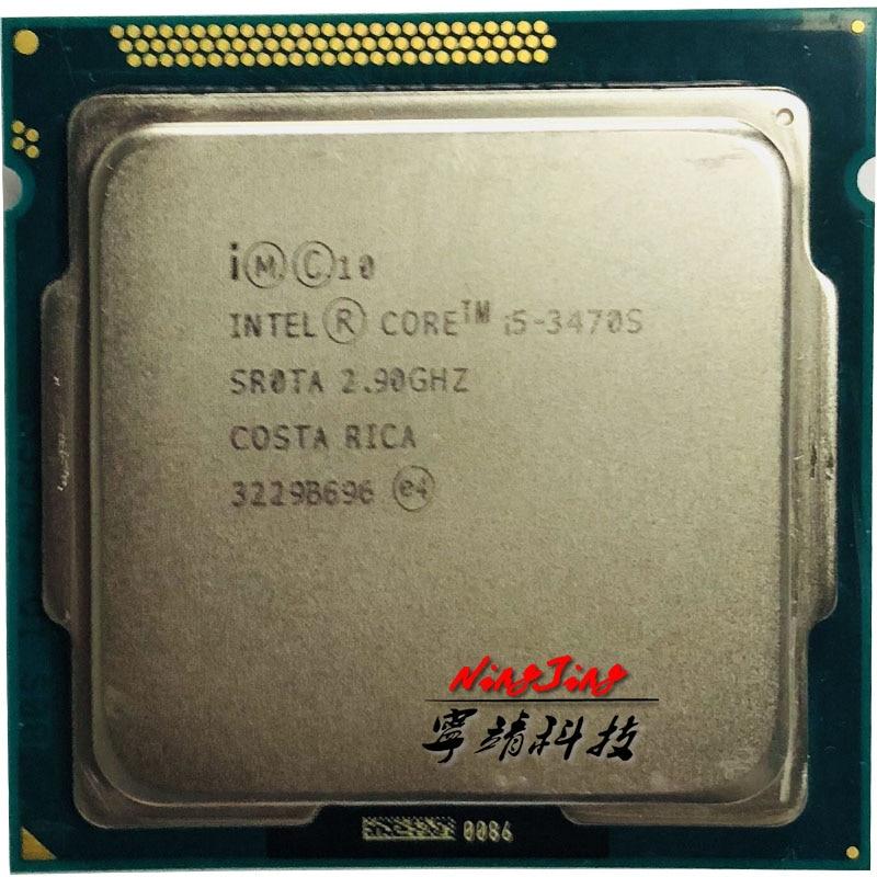 Intel Core i5 3470S i5 3470S 2 9 GHz Quad Core CPU Processor 6M 65W LGA