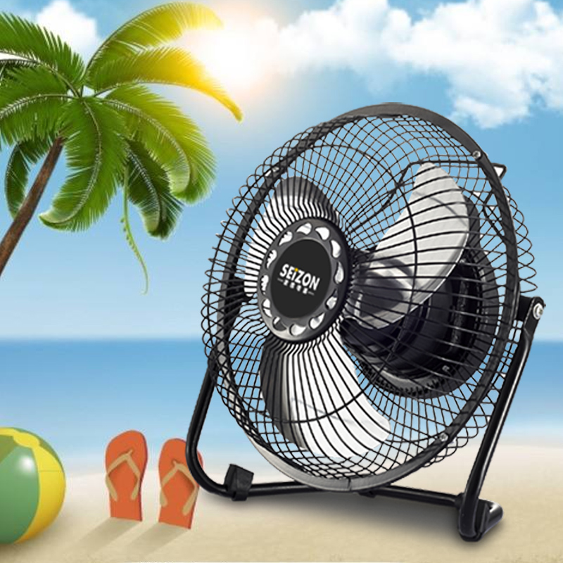 цена Iron fan ventilator mini Charging USB portable cooler outdoor fan 10.5 inch