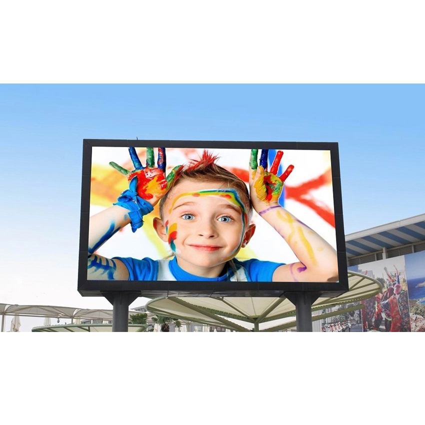 Outdoor Waterproof P10 SMD Full Color LED Display 640X640mm Die Cast Aluminum Cabinet Rental For Advertisint, Led Video Screen