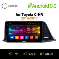Ownice K1 K2 K3 Car dvd for Toyota C HR C HR CHR 2016 2017 Car Android 9.0 Radio Audio GPS Player Navi Stereo Multimedia 4G LTE