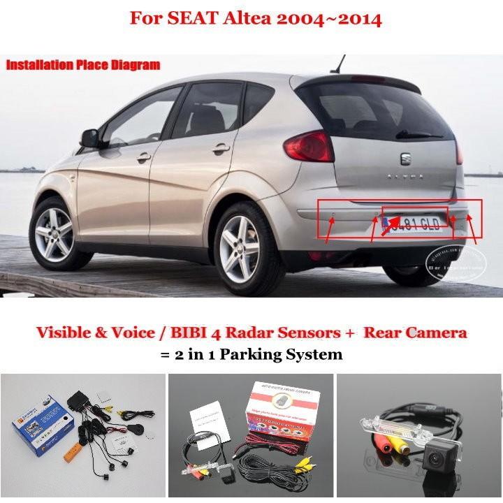 SEAT Altea 2004~2014 parking system