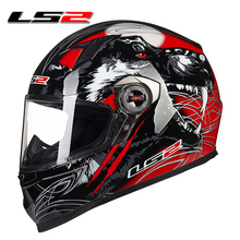 ls2 ff358 Urban Racing Motorcycle winter sports car Motocross safety full helmet motobike 100 Genuine