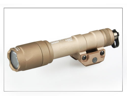 ФОТО Hot Sale Tactical M600 Ultra Scout Light Rail-Mountable LED Weapon Light For Hunting BWF-014Tan