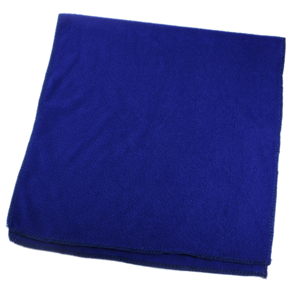 SFDC-Microfiber towel beach towel Toilet Hair Beach Towel 35X75cm Color: Blue