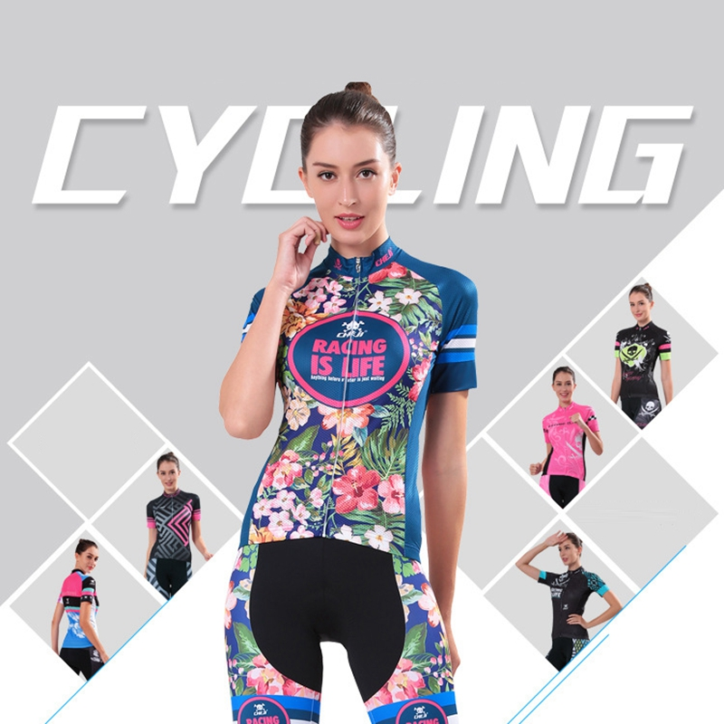 Summer Women MTB Bike Cycling Clothing Breathable Mountian Bicycle Clothes Ropa Ciclismo cycling clothing mtb bicycle polyester summer breathable cycling jerseys pro team italia short sleeve bike clothing mtb ropa ciclismo bicycle maillot gel pad